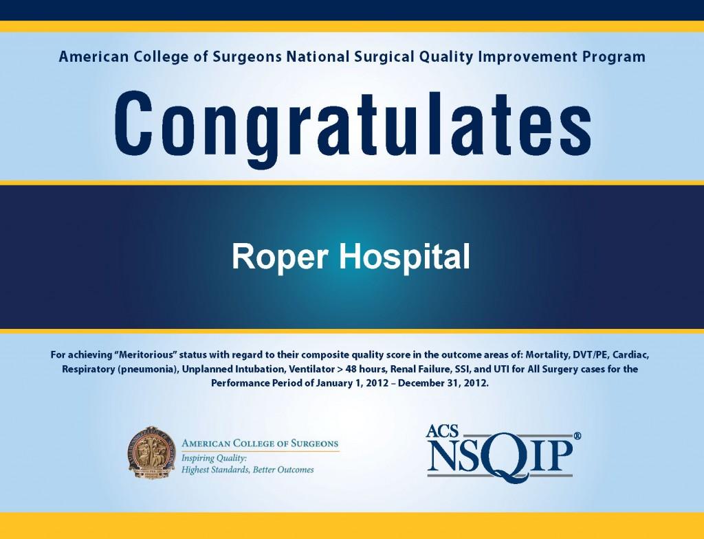roper_hospital_award_college_of_surgeons_2013