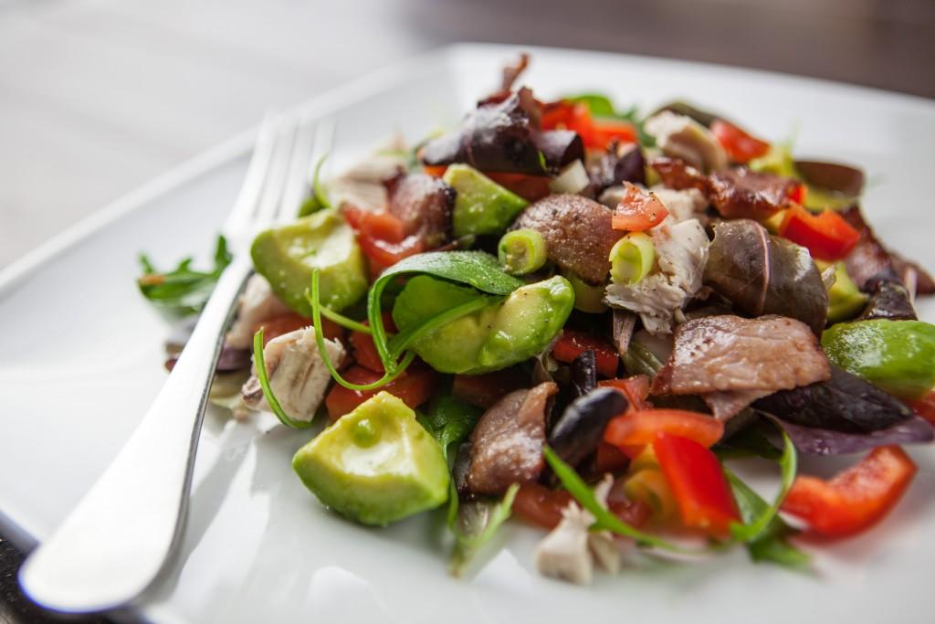 bacon-avocado-salad