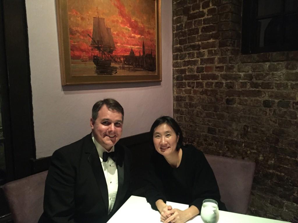 Dr. Clarkson & wife